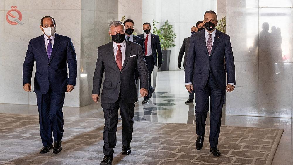 Baghdad hosts the tripartite summit between Iraq, Egypt and Jordan 28024