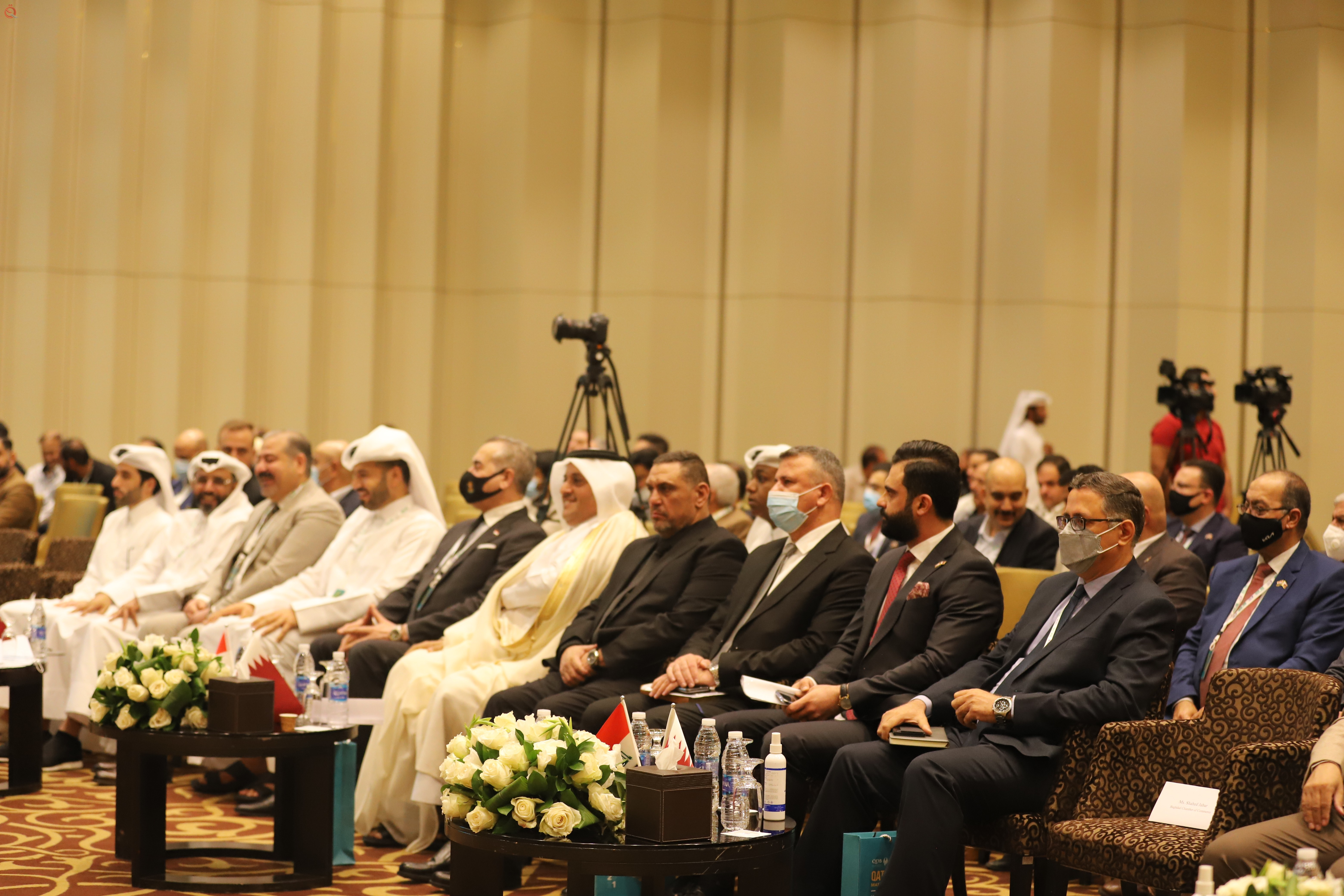 The Association of Iraqi Private Banks participates in the conciliation meeting between the states of Qatar and Iraq 28894